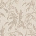 Passenger Wallpaper TP21231 Leaves Taupe By DecoPrint For Galerie